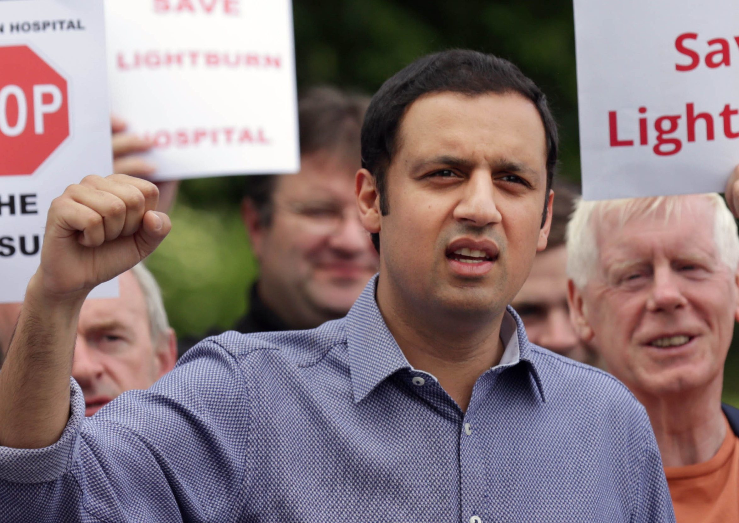 """Labour's Anas Sarwar who has pledged to """"reunite"""" his party as he announced his bid to become the next Scottish leader. (David Cheskin/PA Wire)"""