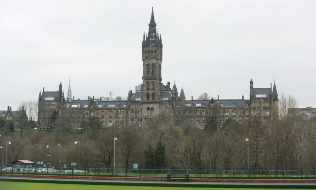 The University of Glasgow has been named Scottish University of the Year by an annual guide (Danny Lawson/PA Wire)
