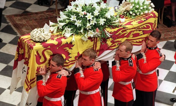 Some 31 million people in the UK tuned in for the funeral, which took place exactly 20 years ago today on September 6 1997. (John Stillwell/PA Wire)