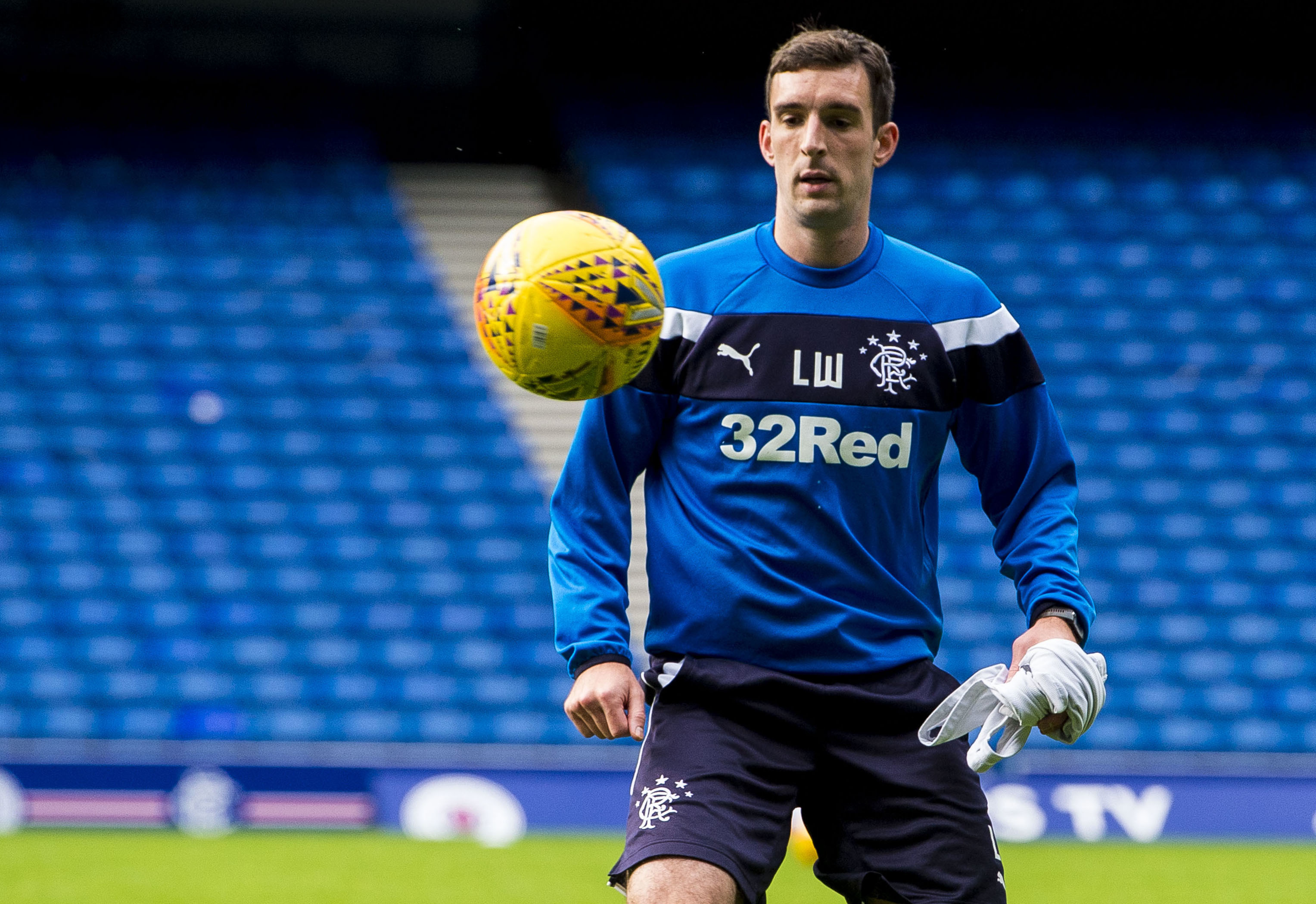 Rangers' Lee Wallace (SNS Group / Paul Devlin)