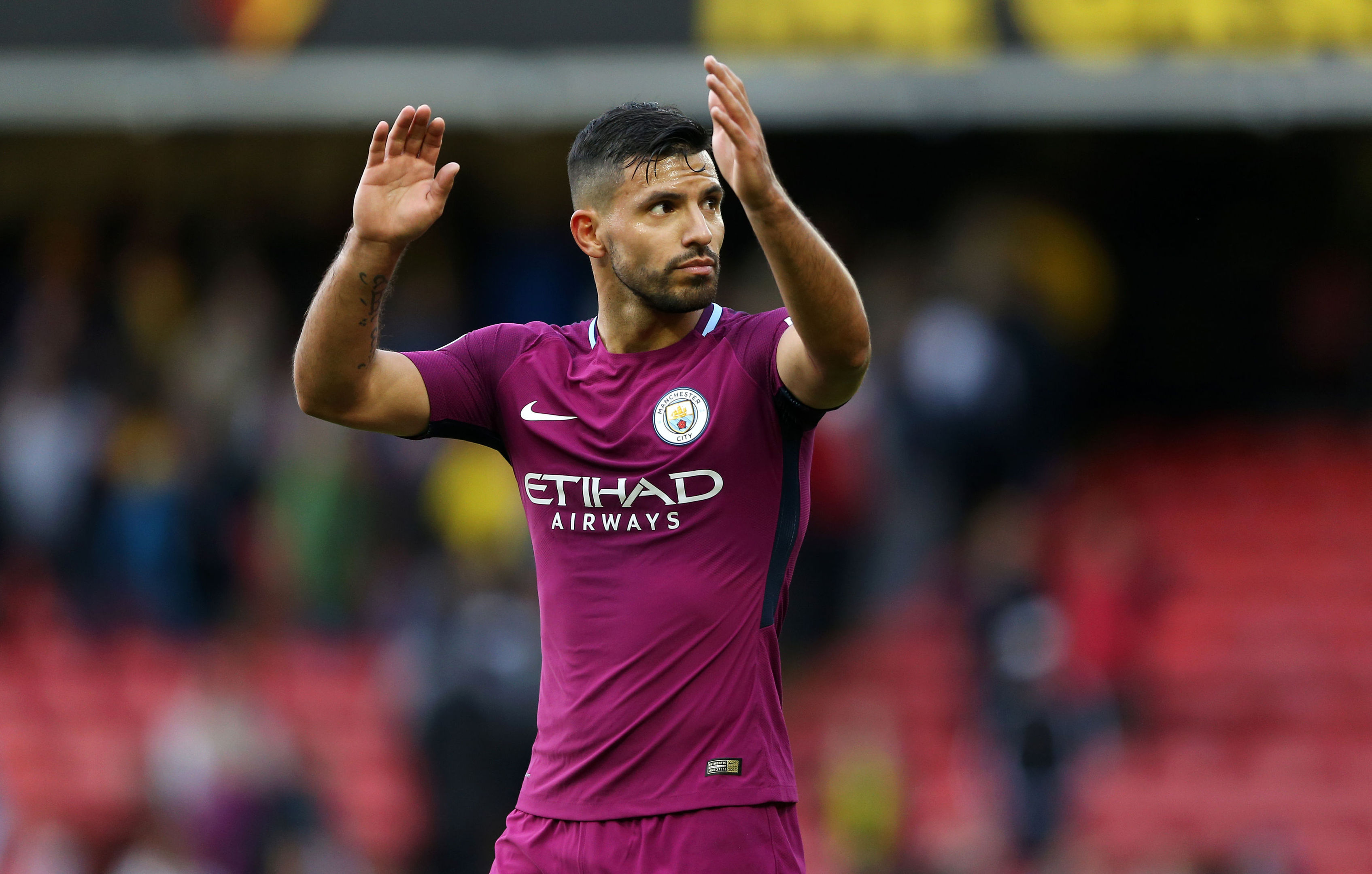 Manchester City's Sergio Aguero (Nigel French/PA Wire)