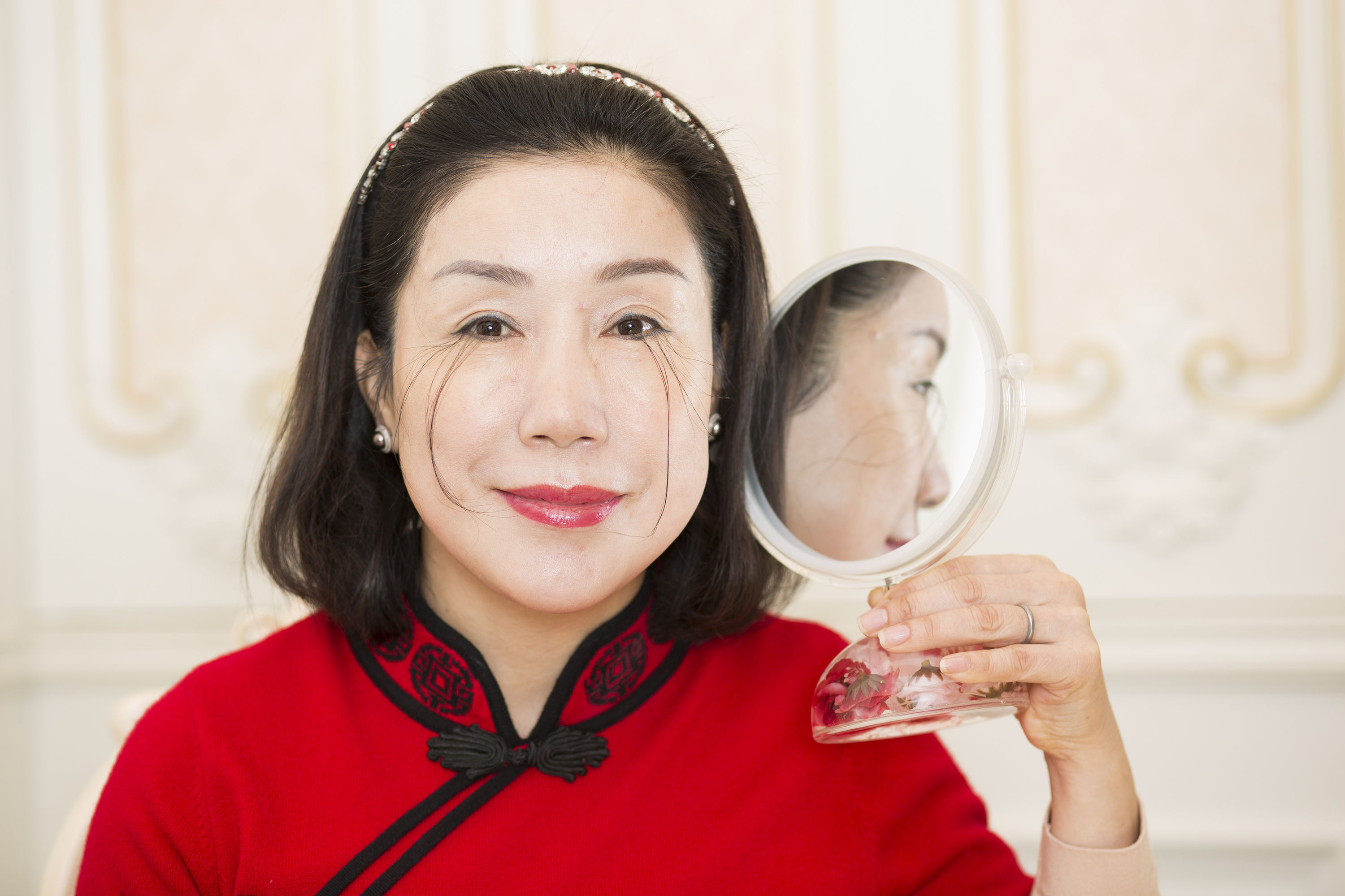 You Jianxia who has the record for the Longest Eyelash as she appears in the latest edition of Guinness World Records 2018. (Jonathan Browning/GWR/PA Wire)