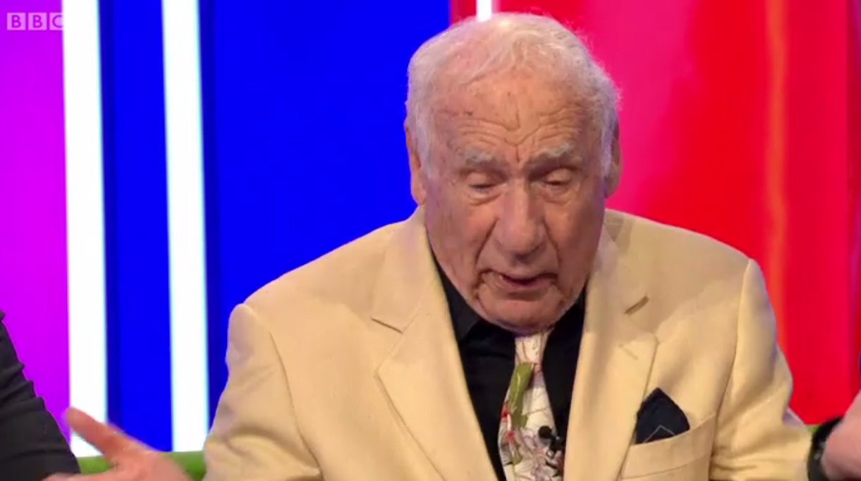 Mel Brooks on The One Show (BBC)