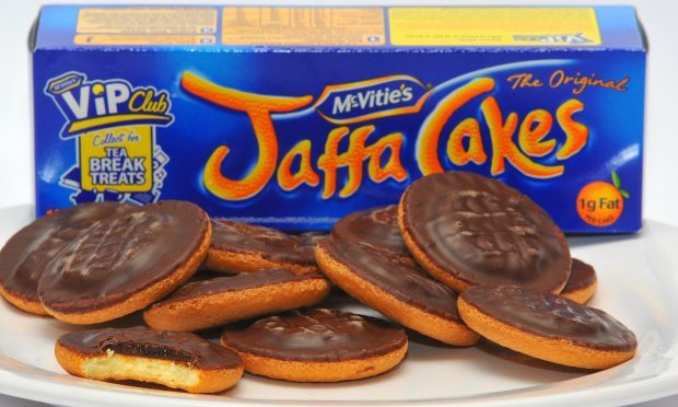 McVitie's has reduced the number of Jaffa Cakes in a packet from 12 to 10 (Clive Gee/PA)