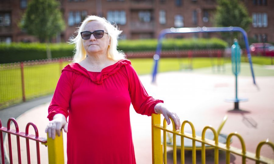 Marie Peachey spent five years at Smyllum Park in the '60s and claims she was regularly beaten by staff there (Pic: Jamie Williamson)