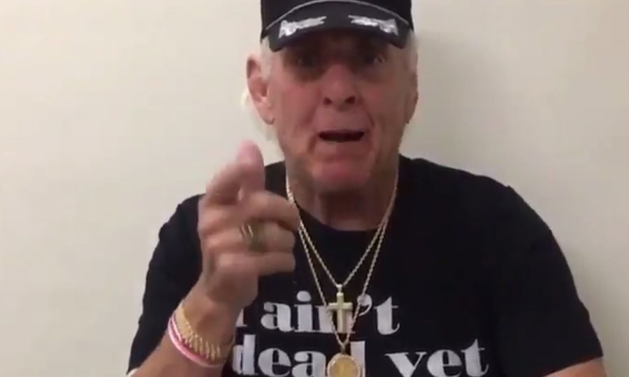 Wrestling Legend Ric Flair Posts To Social Media, 'I Ain't Dead Yet'