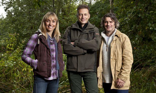 Presenters Michaela Strachan, Chris Packham, Martin Hughes-Games - (BBC, Emilie Sandy)