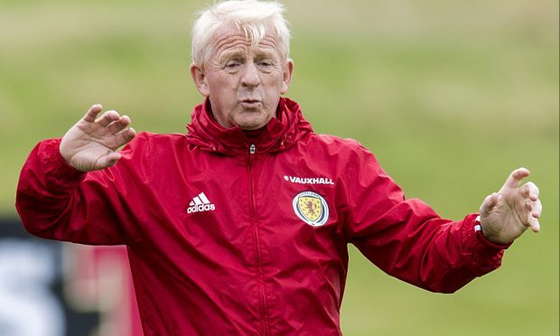 Scotland manager Gordon Strachan (SNS Group / Craig Williamson)
