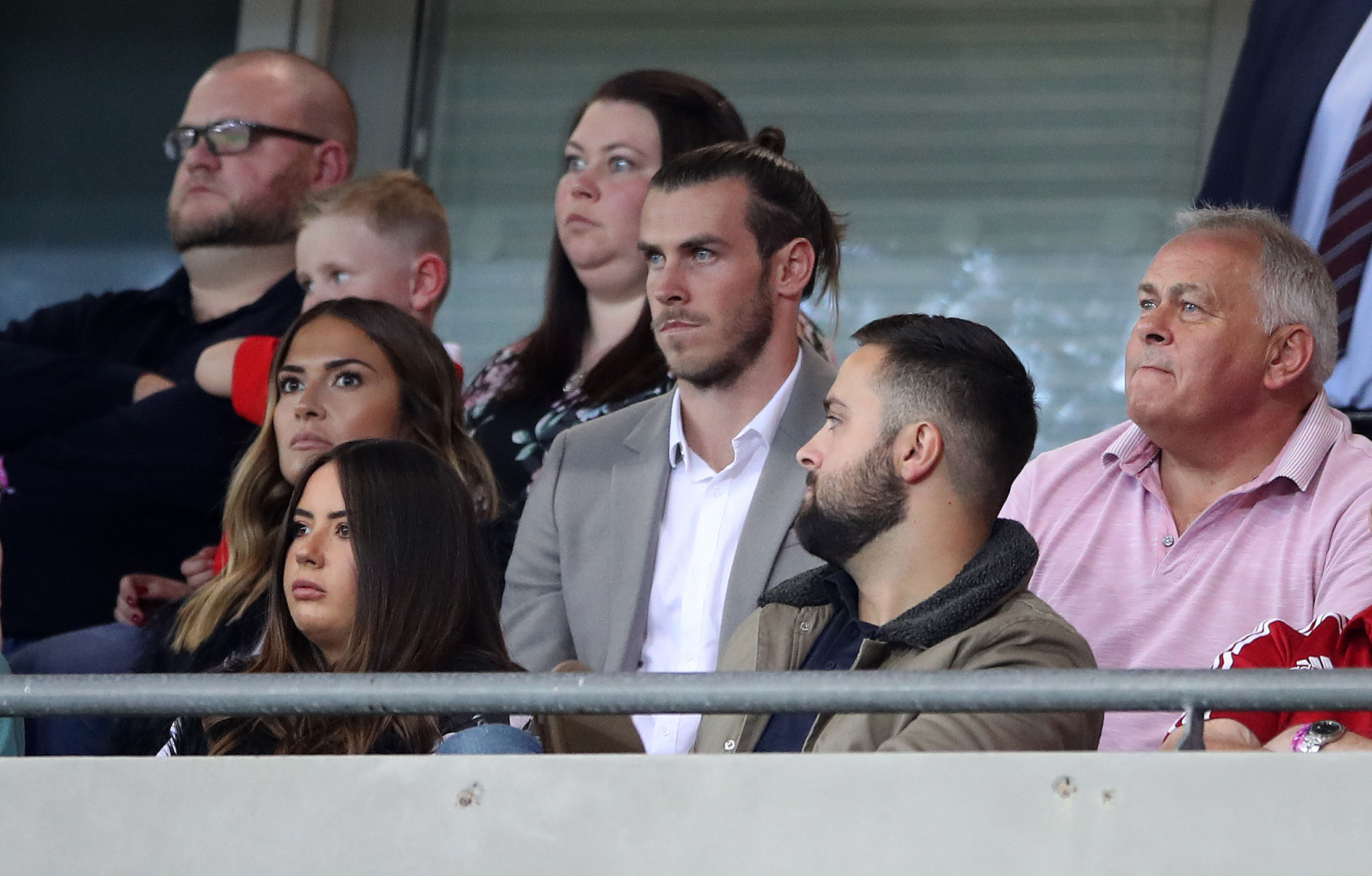 Gareth Bale watches Wales miss out (Nick Potts/PA Wire)