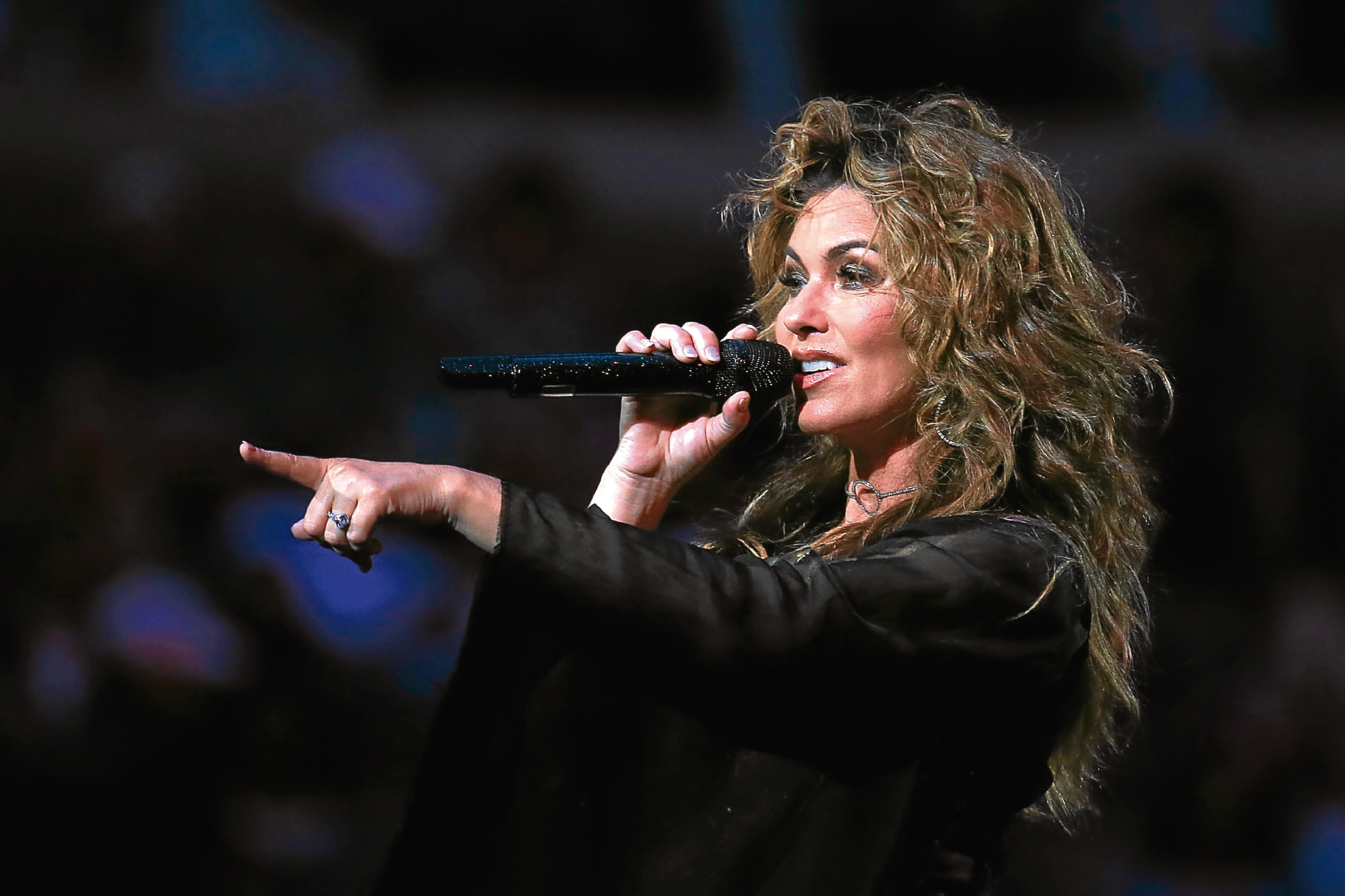 Shania Twain (Chris Trotman/Getty Images for USTA)