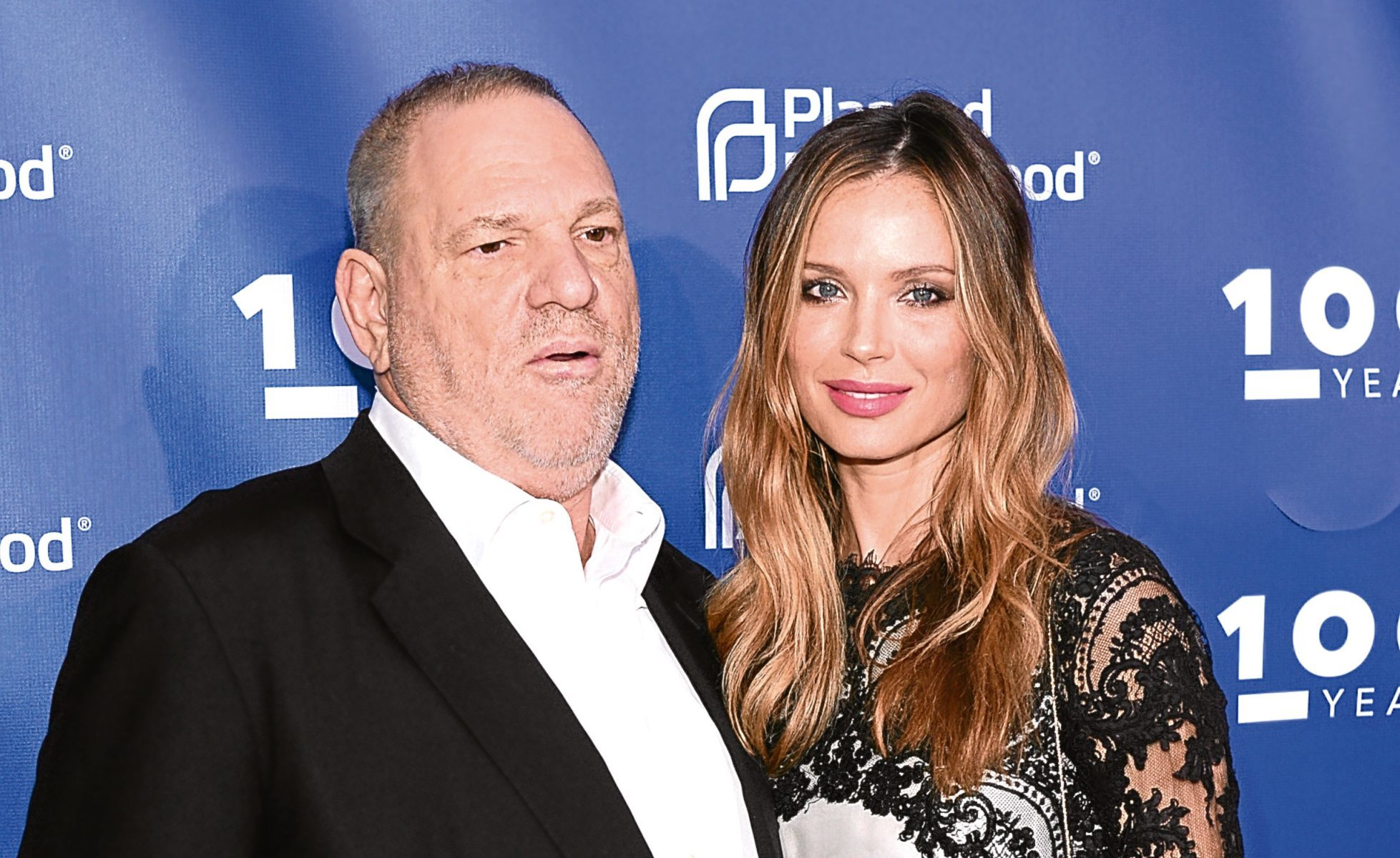 Harvey Weinstein and Georgina Chapman (Andrew Toth/Getty Images)