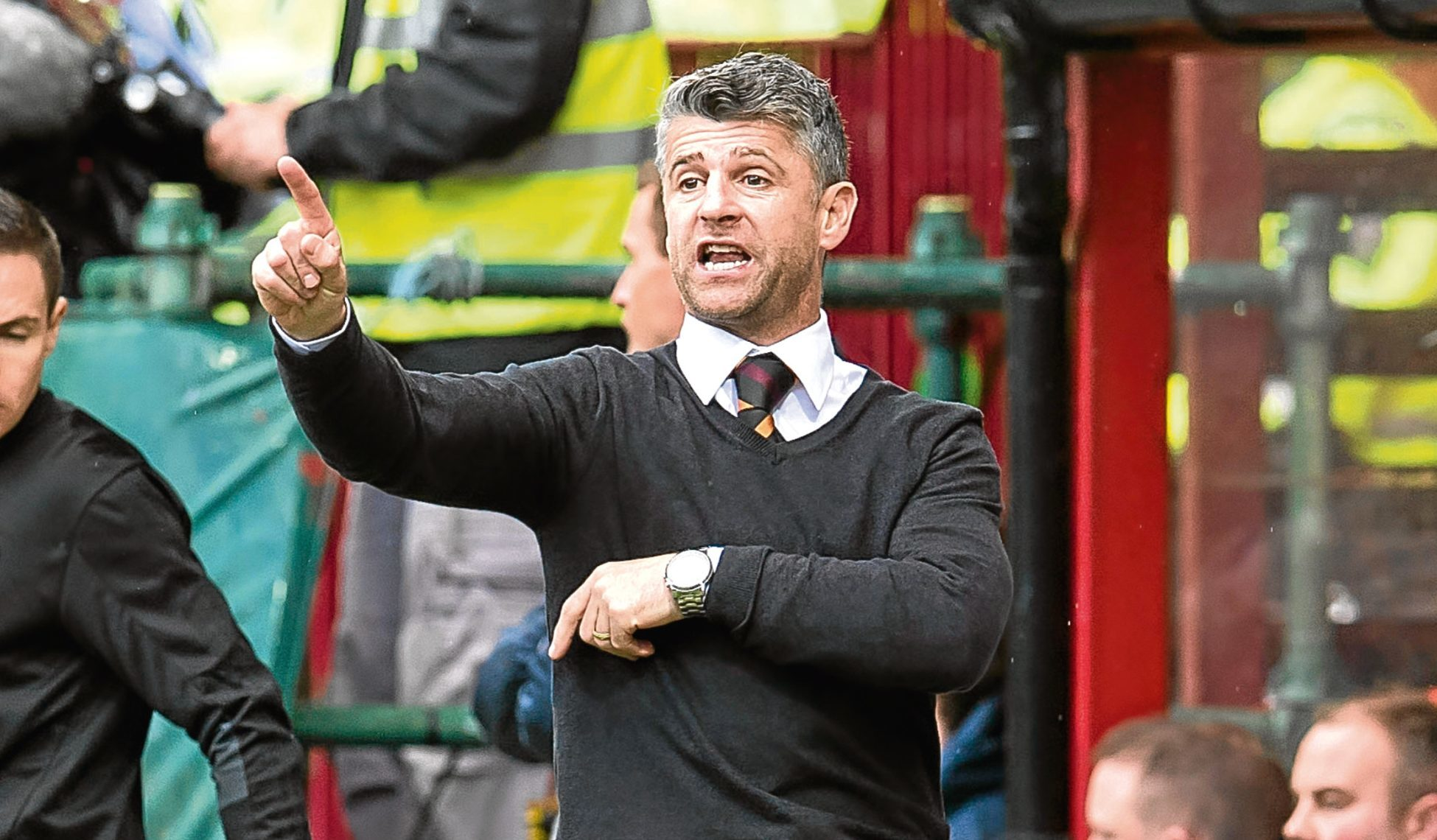Motherwell manager Stephen Robinson (SNS Group)