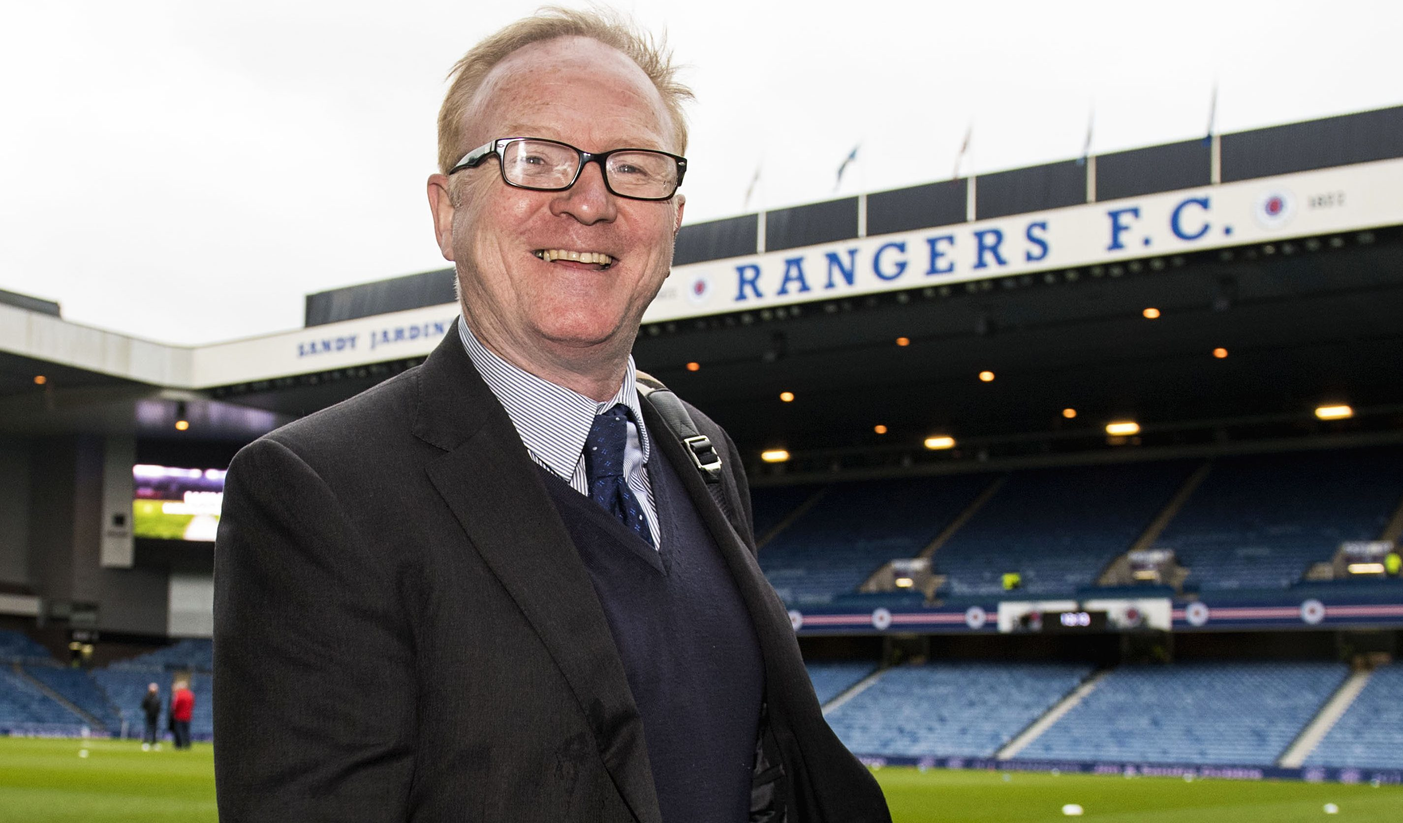 Former Rangers manager Alex McLeish (SNS Group / Alan Harvey)