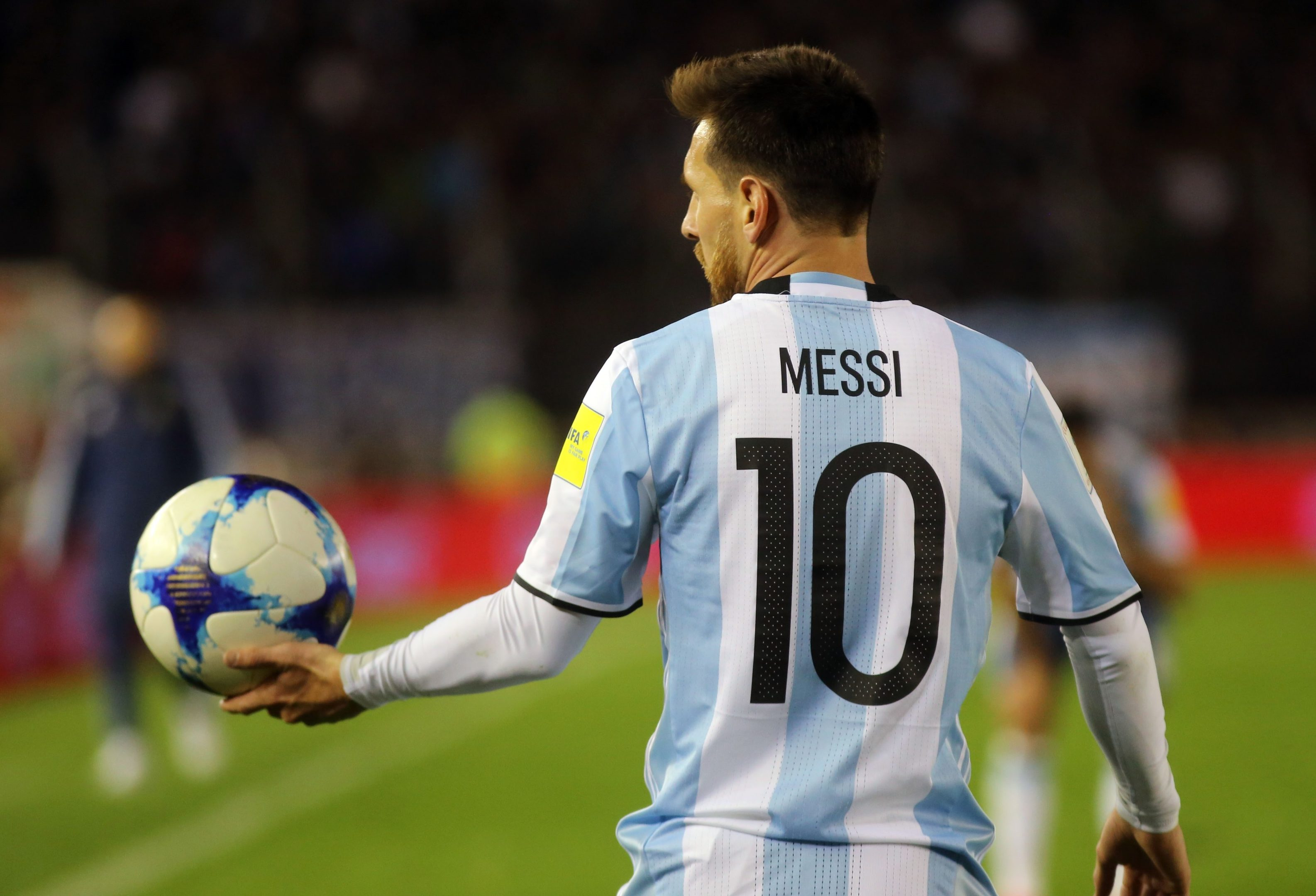 Messi Son 2017 World Cup