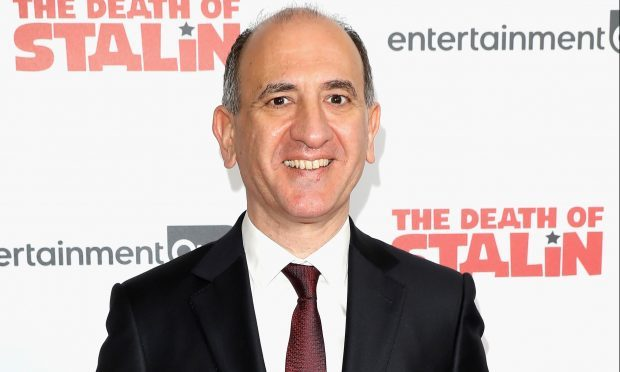 Director Armando Iannucci arriving at 'The Death Of Stalin' UK Premiere (Tim P. Whitby/ Getty Images)