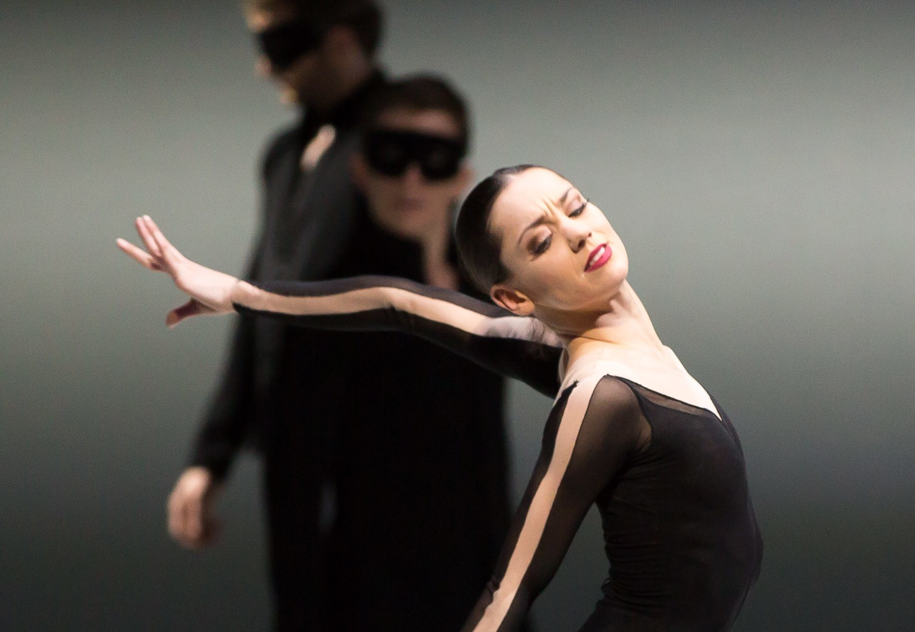 Sophie Martin in Swan Lake (Andy Ross)