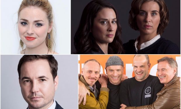 Freya Mavor (PA), The Replacement (BBC), Martin Compston (BBC) and T2 Trainspotting (PA) are all up for Bafta Scotland awards