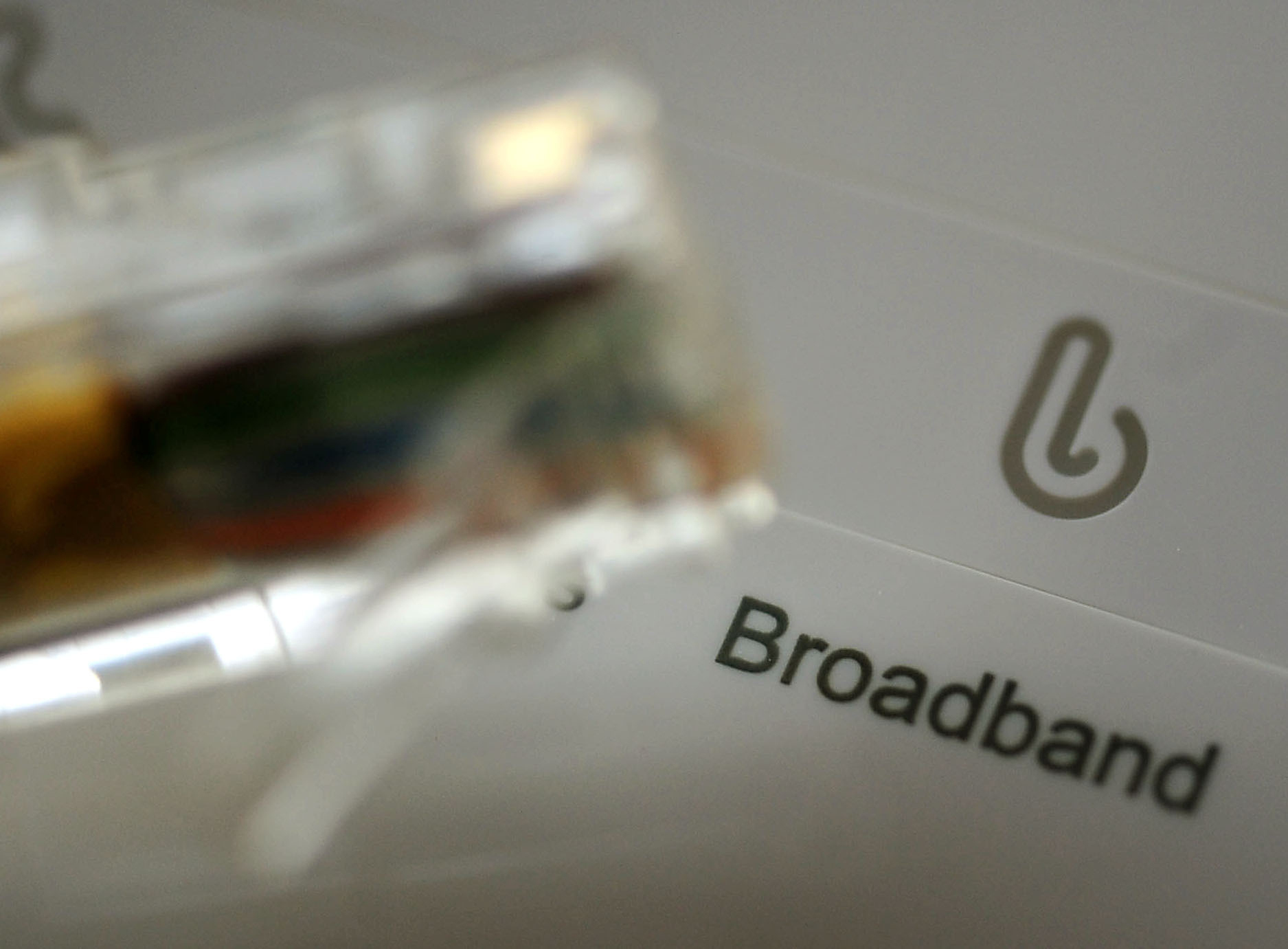 The majority of households experienced problems with their broadband over the last year, with slow speeds the most common complaint, a survey has found.  (Rui Vieira/PA Wire)