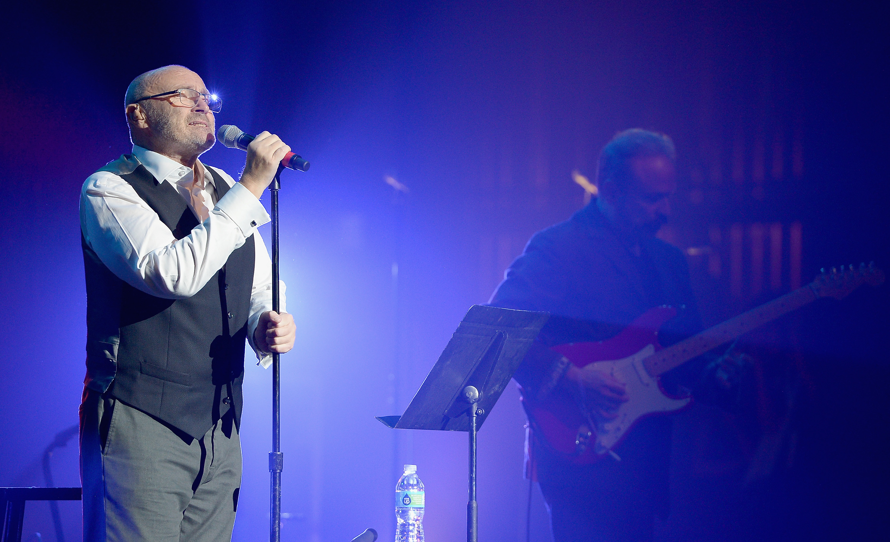 Phil Collins on stage (Gustavo Caballero/Getty Images)