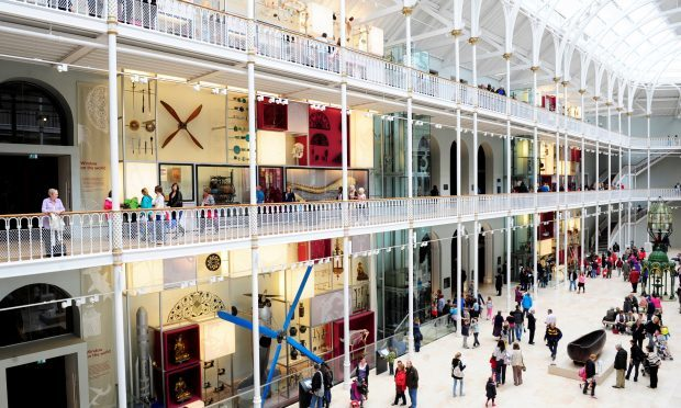 Grand Gallery at the National Museum of Scotland (National Museum of Scotland)