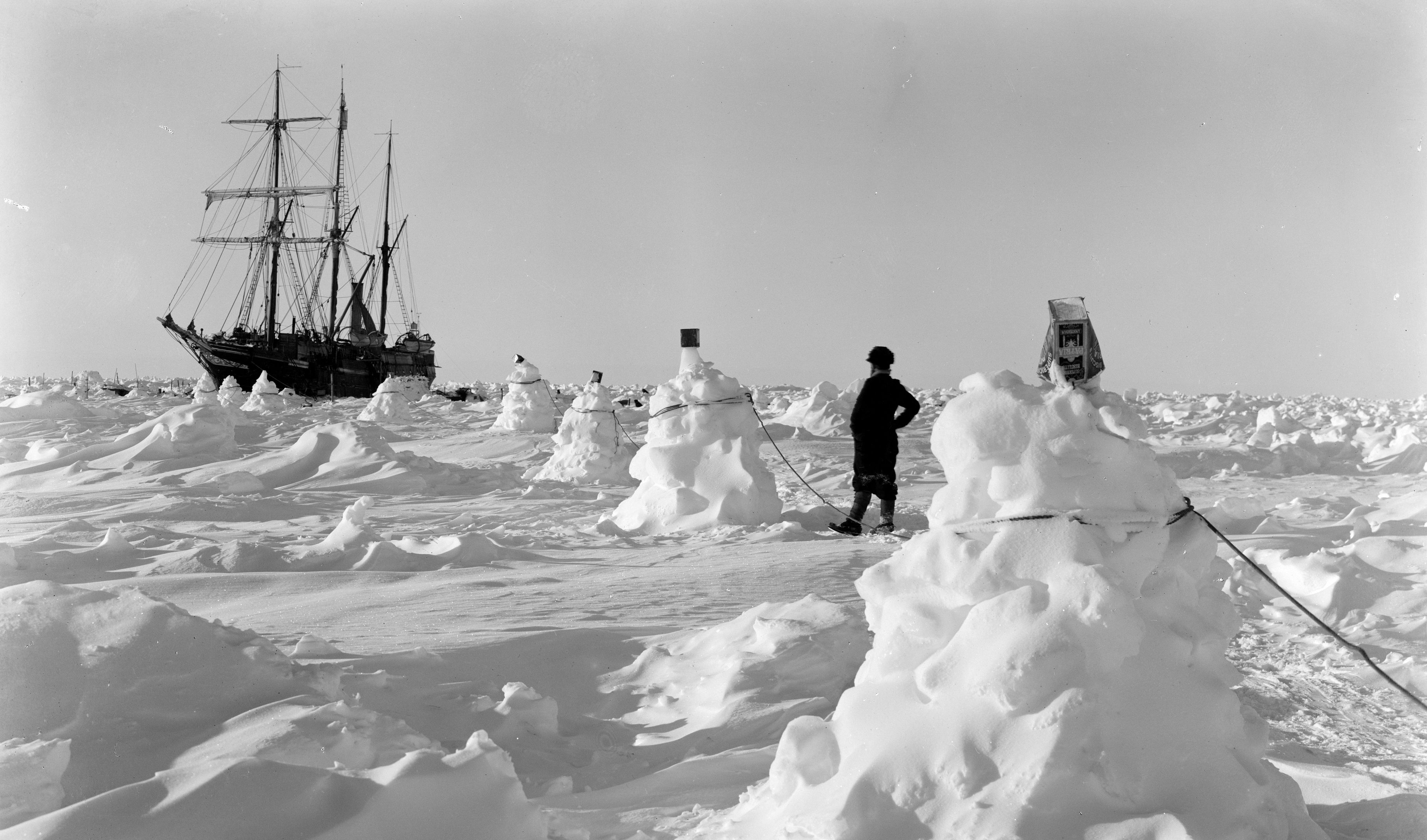 6c0f7b32eb Stunning images rescued from icy waters tell story of Shackleton's ...