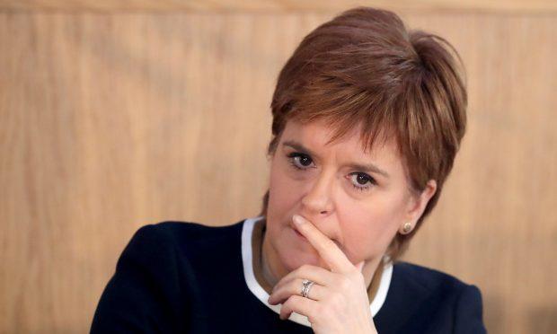 First Minister Nicola Sturgeon (Jane Barlow/PA Wire)