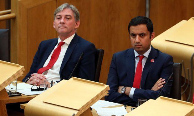 Scottish Labour leadership candidates Richard Leonard (left) and Anas Sarwar. (Andrew Milligan/PA Wire)