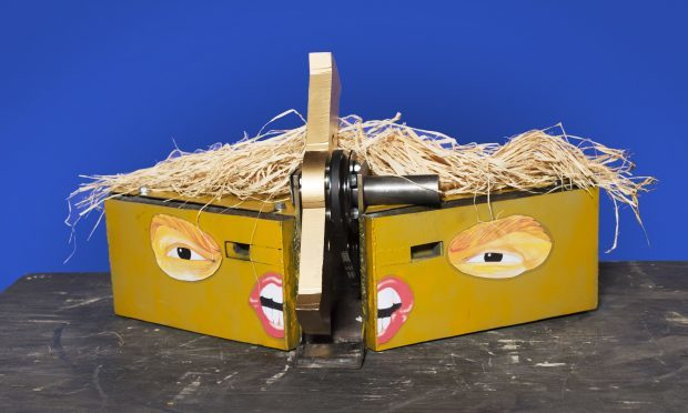 US president-inspired robot, Donald Thump, (Robot Wars/BBC Two/PA Wire)