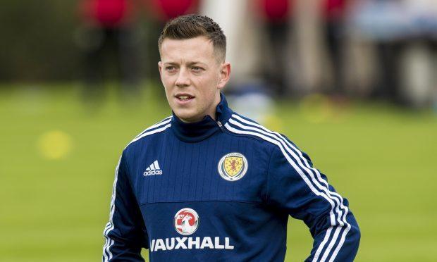 Scotland's Callum McGregor (SNS Group / Craig Williamson)