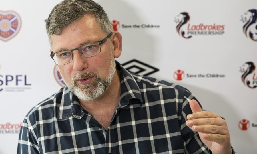Hearts manager Craig Levein (SNS Group / Bruce White)