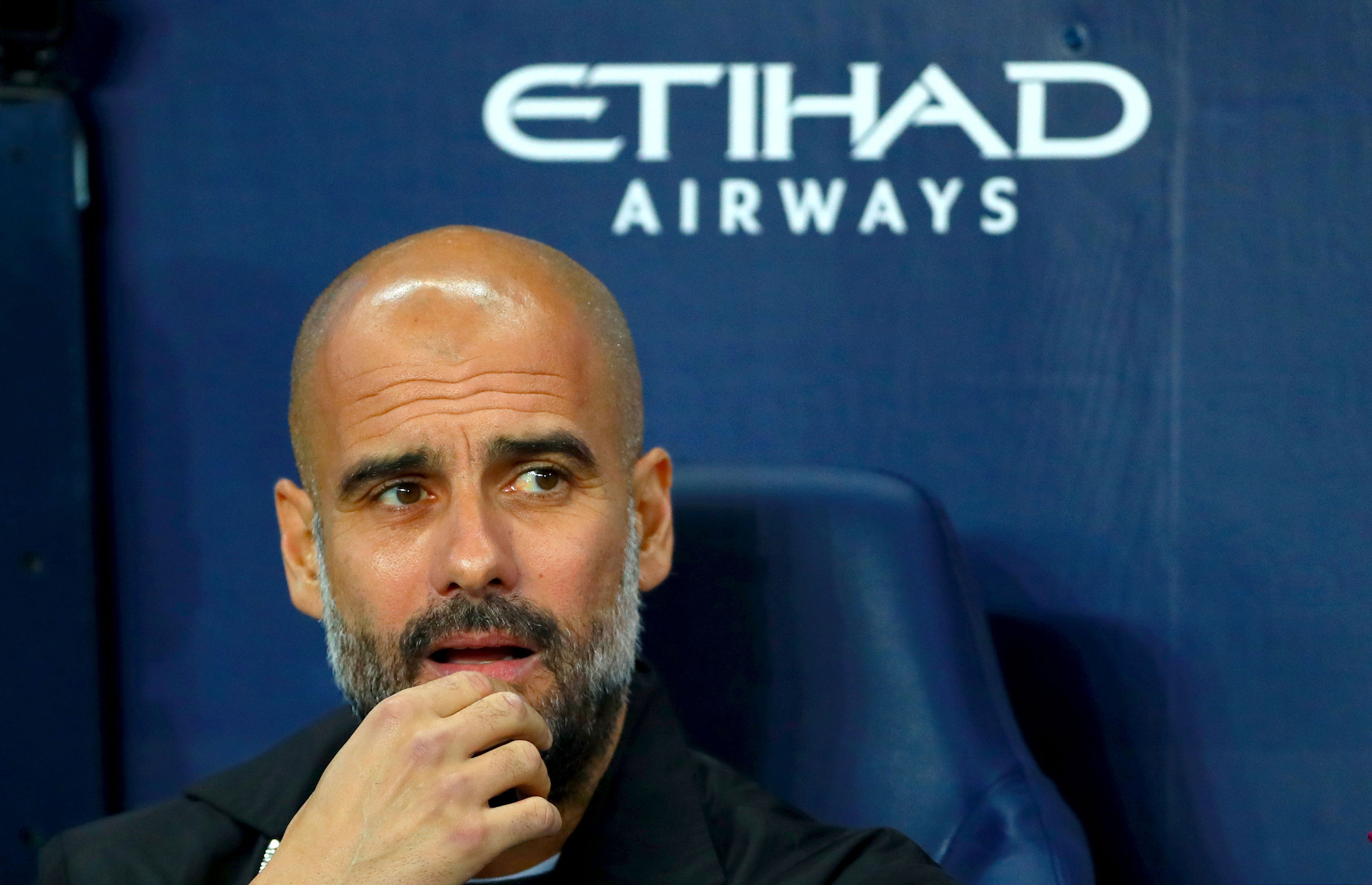 Manchester City manager Pep Guardiola (Tim Goode/PA Wire)
