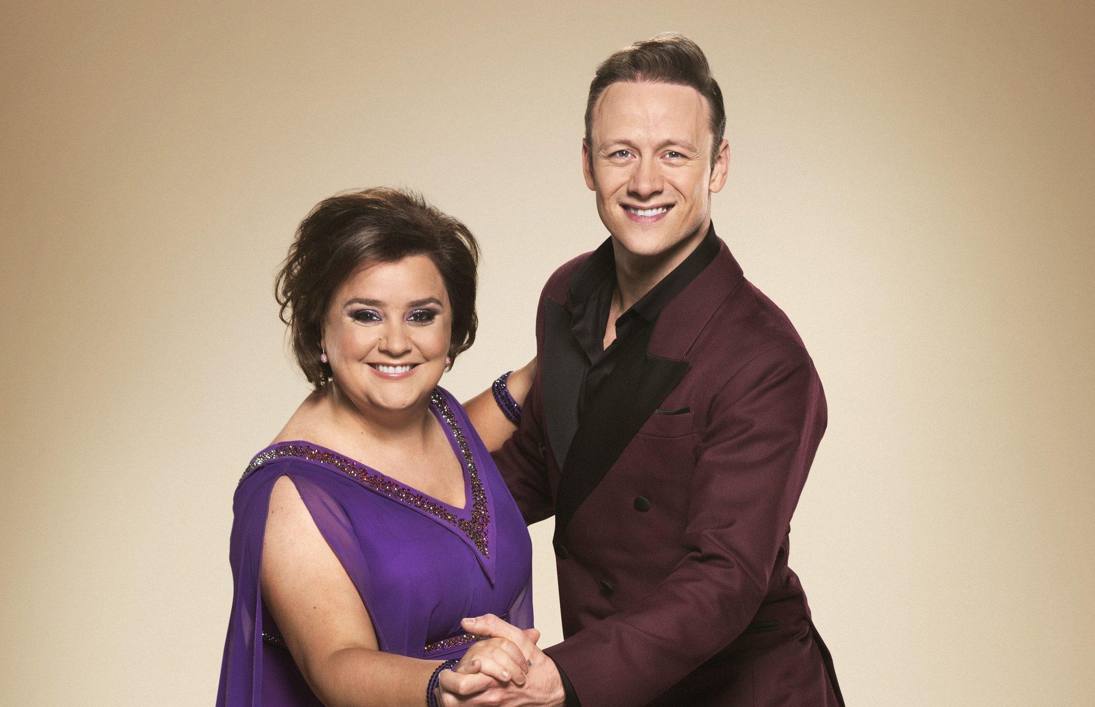 Kevin Clifton and Susan Calman (PA/BBC)