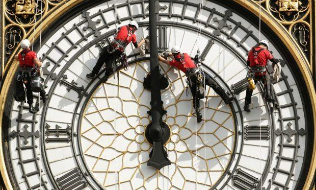 The clocks go back on Sunday October 29th (Yui Mok/PA)