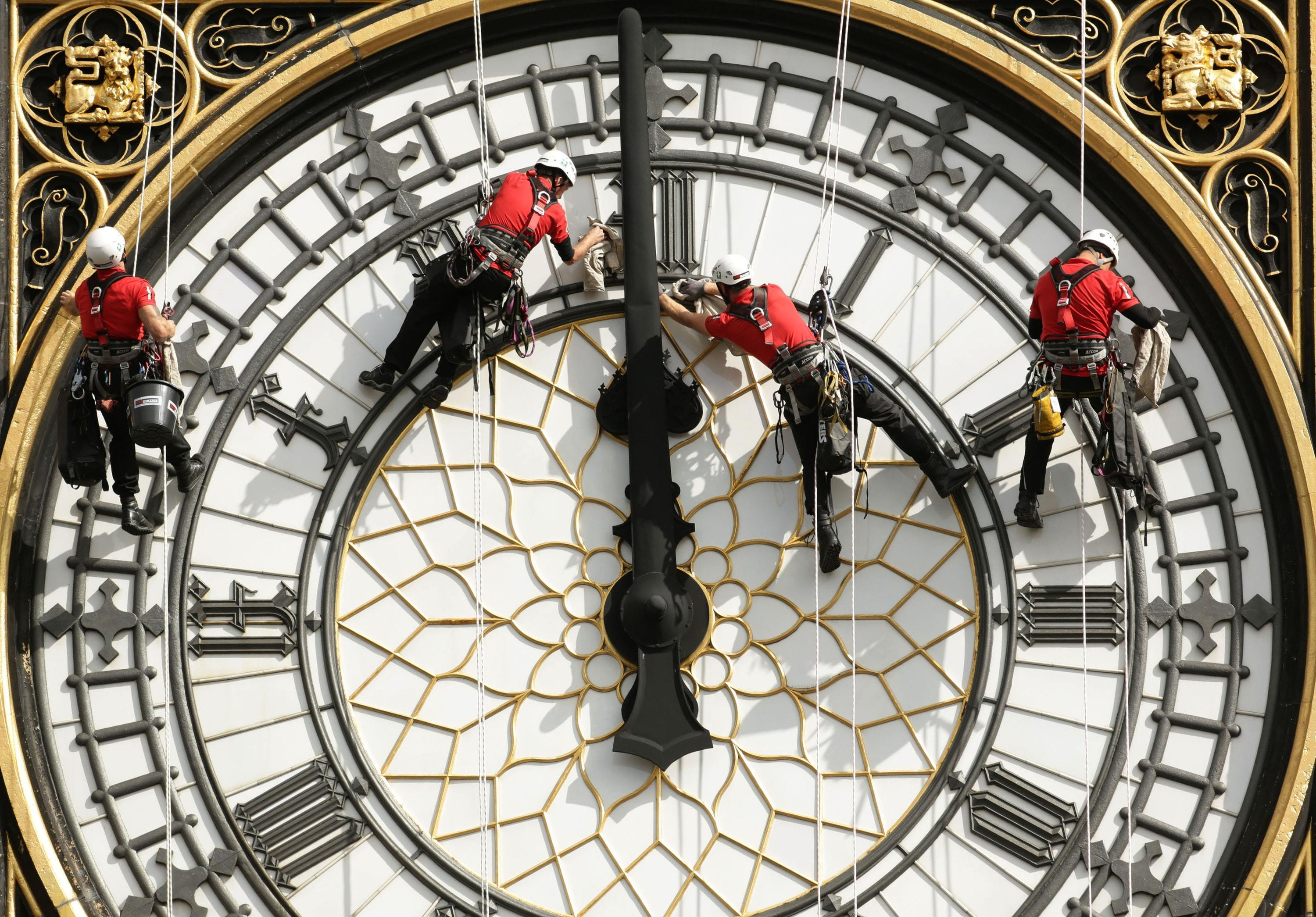 The clocks go back on Sunday October 29th (Yui Mok/PA)