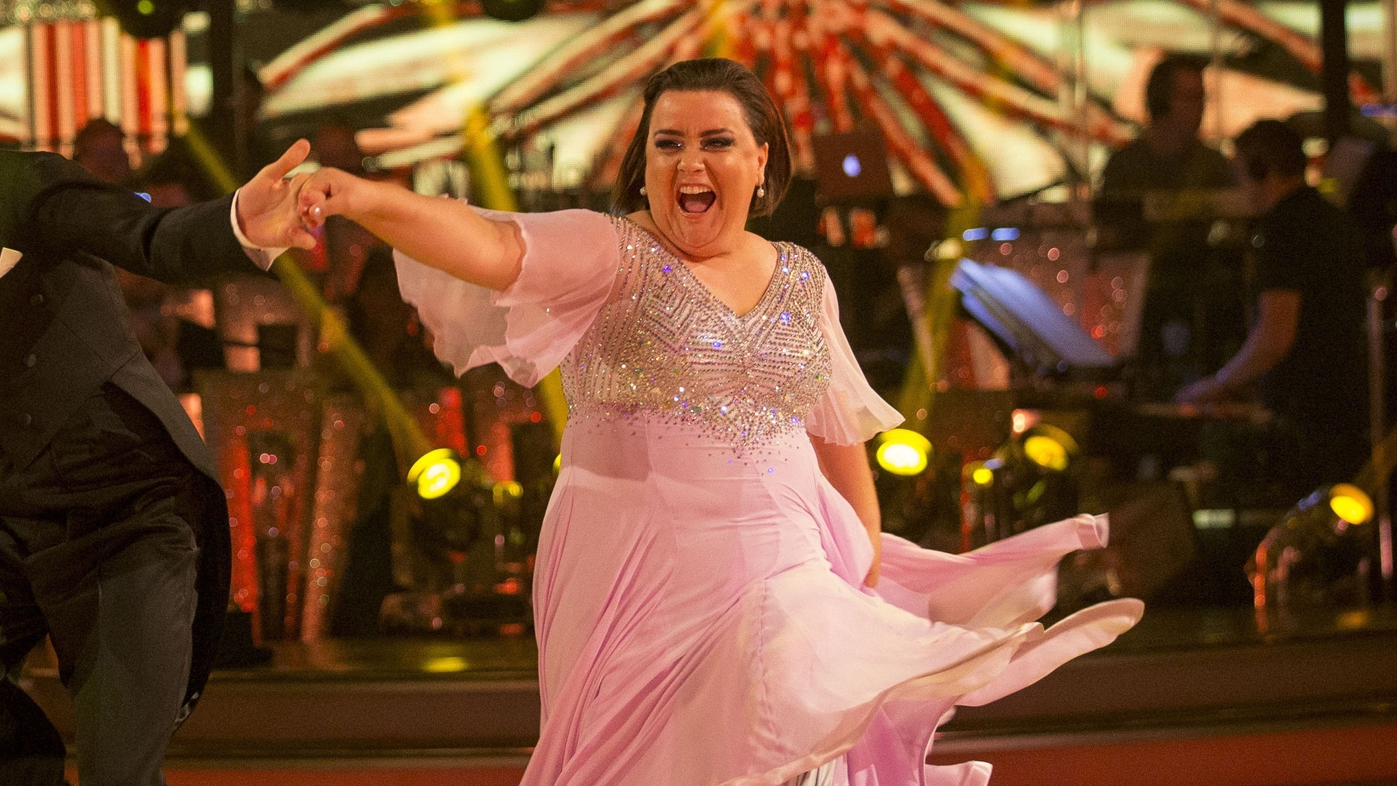 Emilia Clarke sends message of support to Strictly's Susan Calman (Guy Levy/BBC/PA)