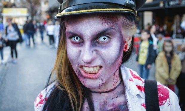 Ahead of Halloween, experts are warning against coloured contact lenses (iStock)