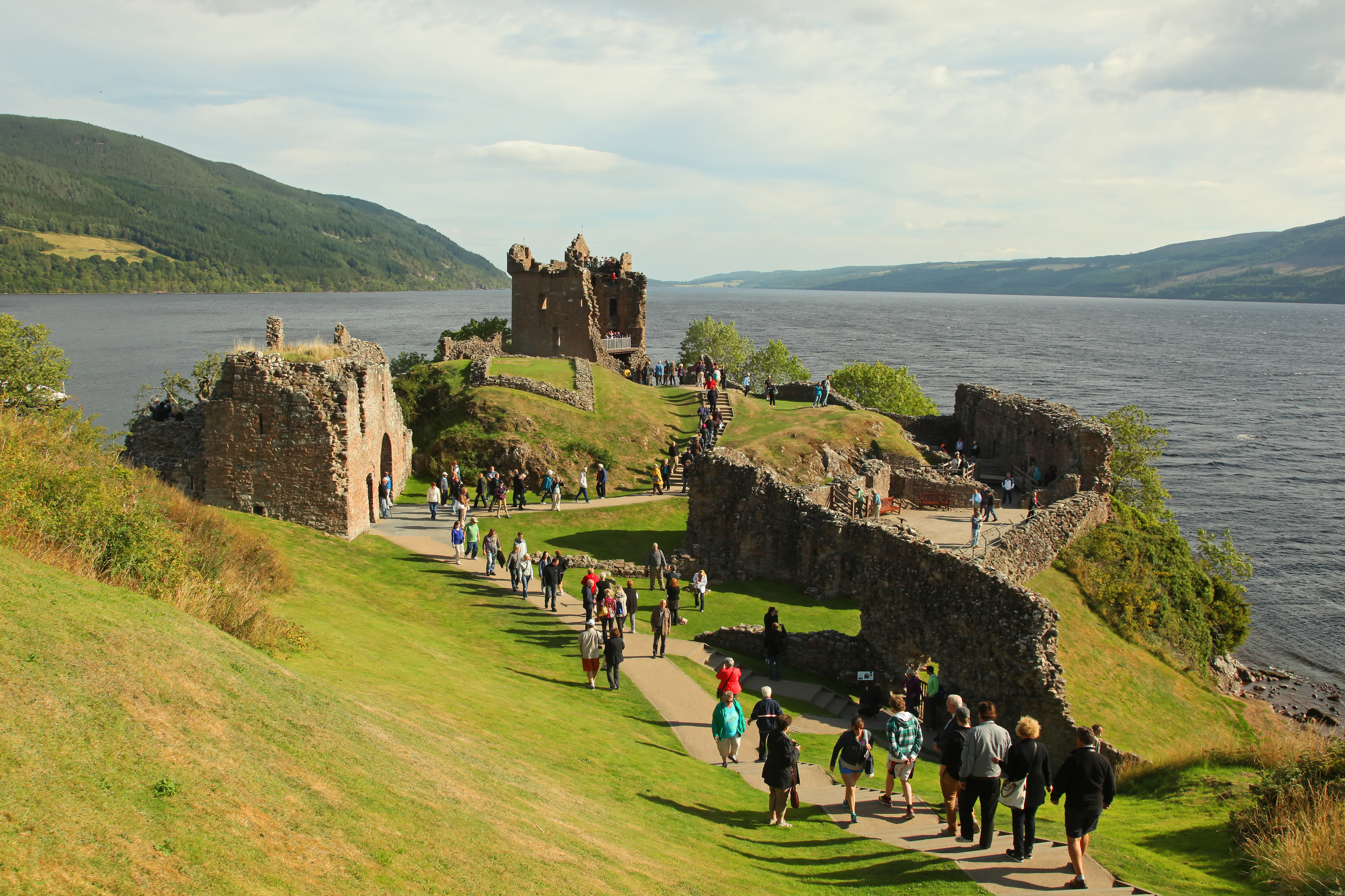 cebdf08058ee The number of American tourists visiting Scotland has soared in the last  tear (iStock)