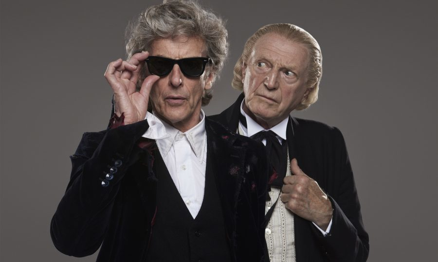 David Bradley takes on the role of the First Doctor in this year's Christmas special with Peter Capaldi