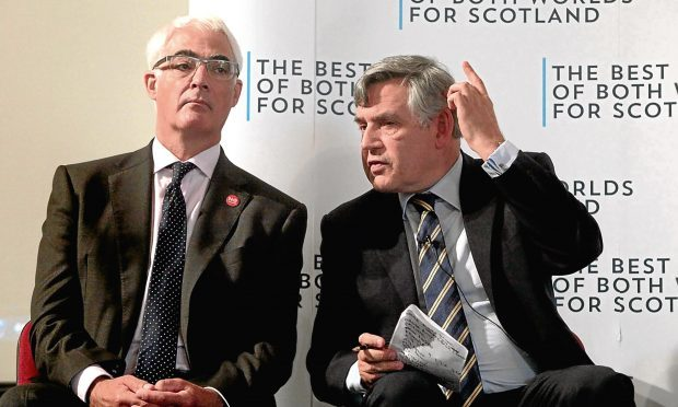 Alistair Darling and former Prime Minister Gordon Brown (Katie-Lee Arrowsmith, HE Media)