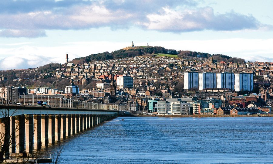 Dundee City Centre (Kris Miller/Dc Thomson)