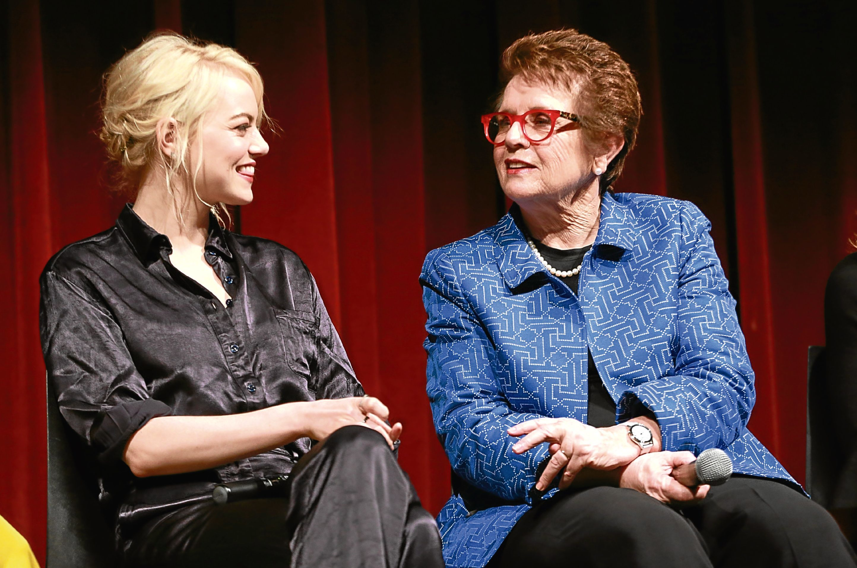 Emma Stone plays Billie Jean King in the Battle Of The Sexes film (Robin Marchant / Getty Images)