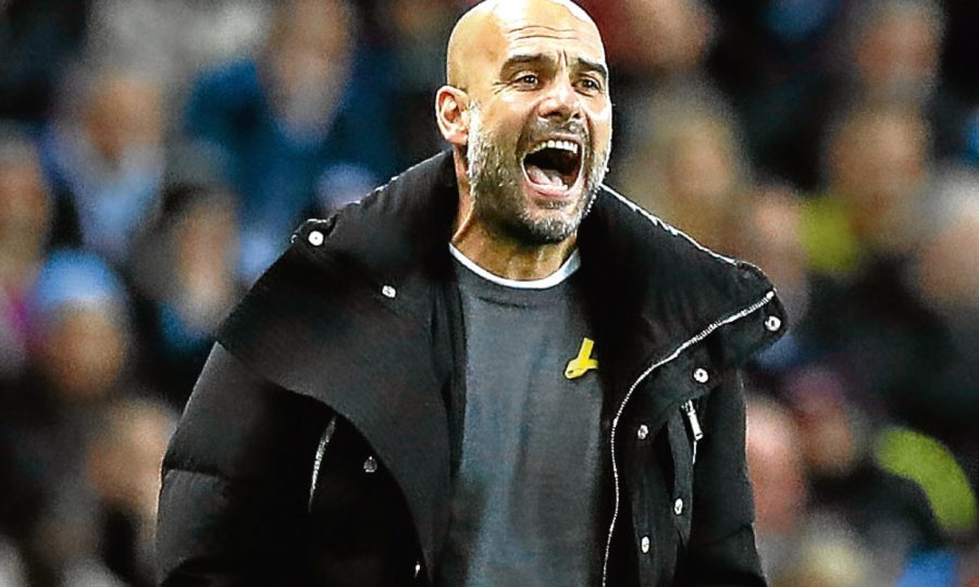 Guardiola praises 'amazing relationship' between Aguero and Jesus