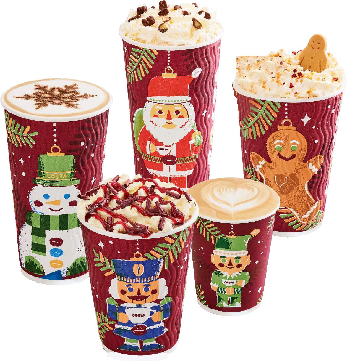Starbucks Christmas Drinks Uk