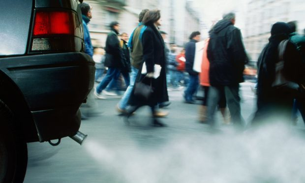 The Sunday Post analysed pollution levels on daily commutes on Glasgow (Getty Images)