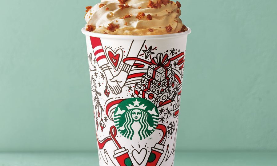 Gingerbread Latte (Starbucks)