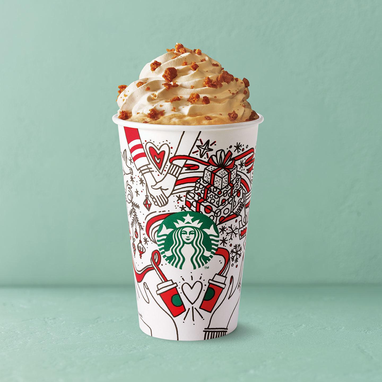 Gingerbread Latte (Starbucks)