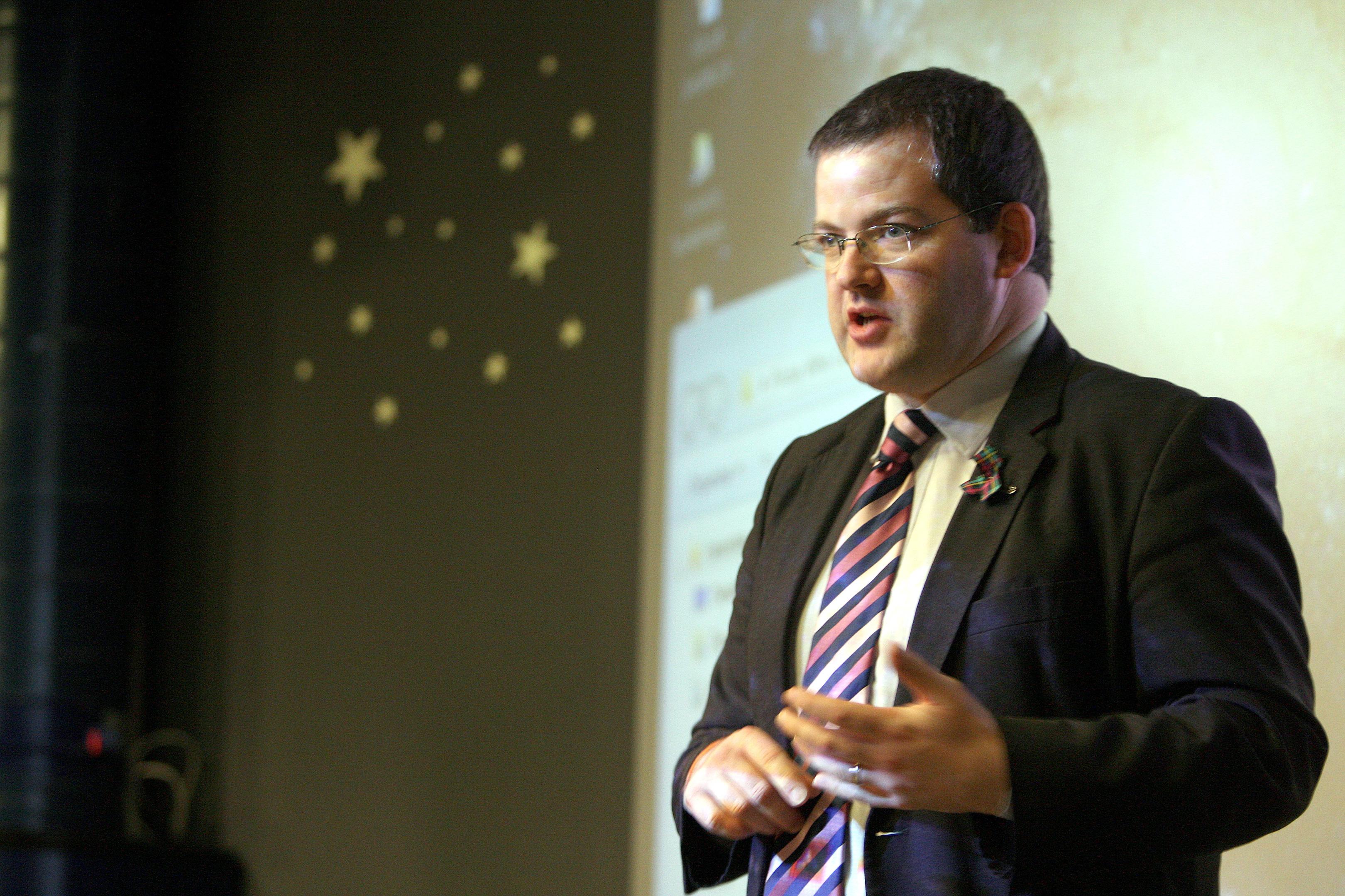 Former SNP minister Mark McDonald resigned yesterday (Kris Miller / The Courier)