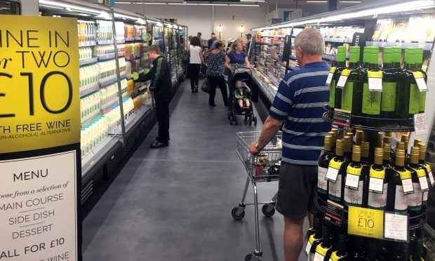 Marks & Spencer say they are looking at how minimum pricing will affect their offers