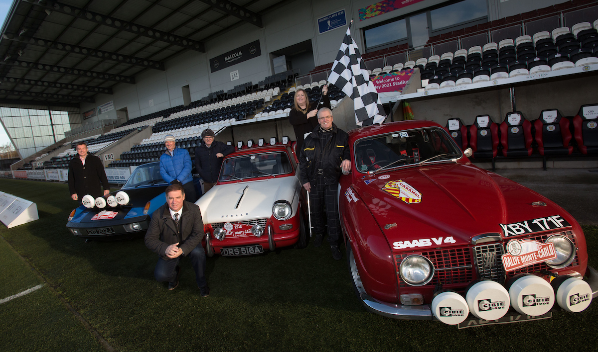 The launch event for the Monte Carlo Rally (Mark F Gibson / Gibson Digital)