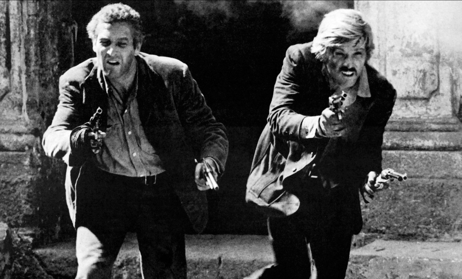 Butch Cassidy and The Sundance Kid were immortalised by Newman and Redford (Allstar/20TH CENTURY FOX)